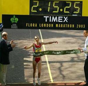 Paula Radcliffe Weltrekord