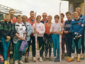 LL-Trainingslager Ramsau am Dachstein 1988
