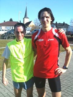 Die Sieger in der M35 Denis Mietzsch und Carsten Stegner