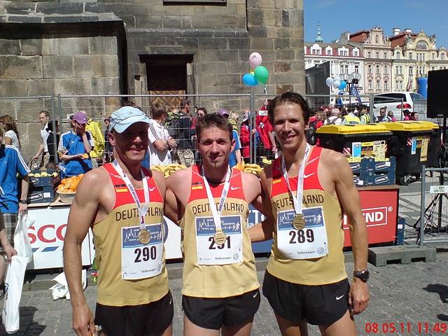 Im Ziel: Robert Ruff, Lars Siegmund, Carsten Stegner