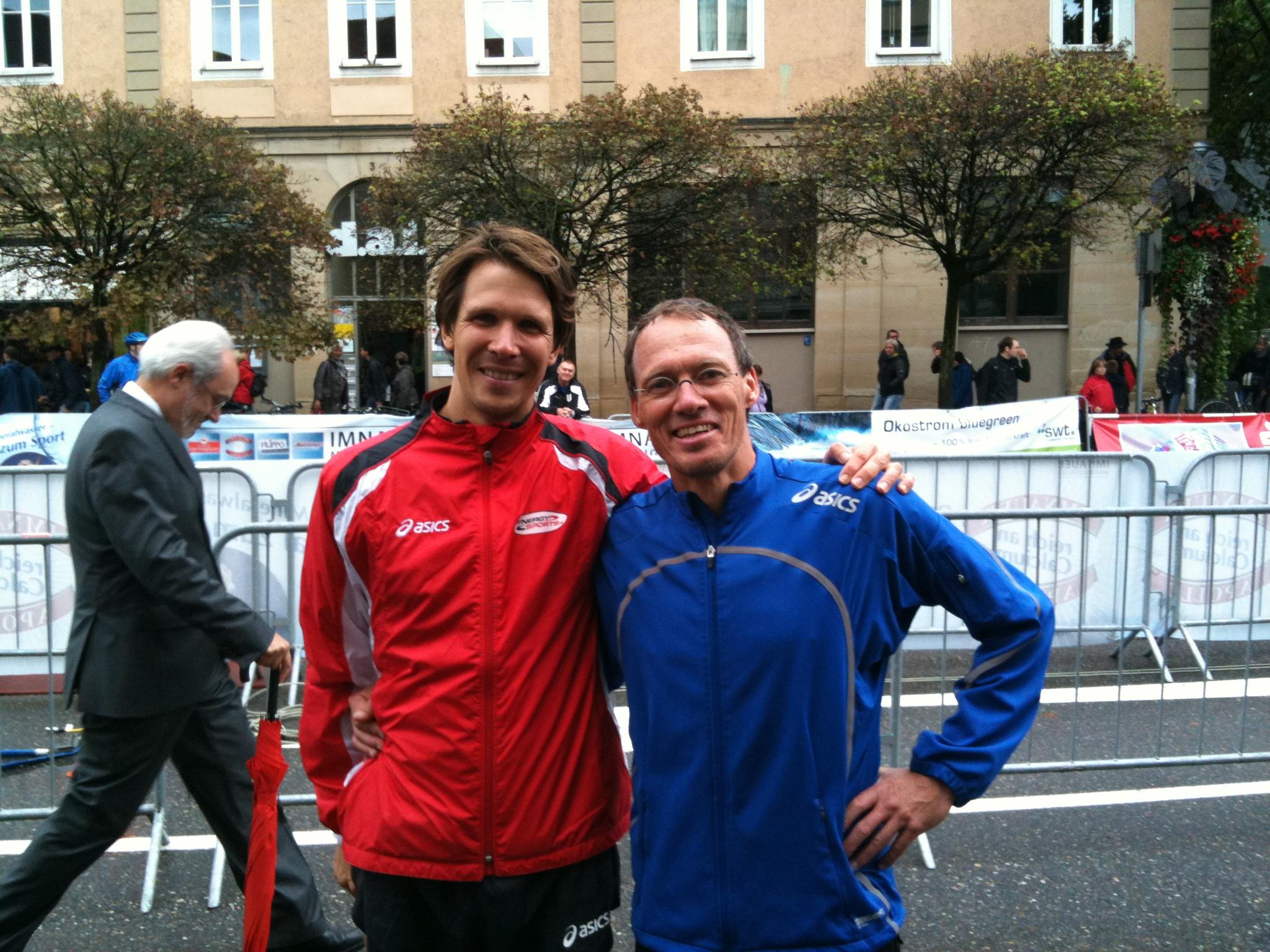 """Heimvorteil: Dieter Baumann lief bei """"seinem"""" Stadtlauf mit sehr guten 23:47 min auf den 16. Platz"""