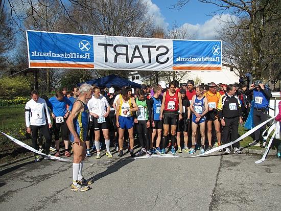 Am Start - Bild: PTSV Rosenheim