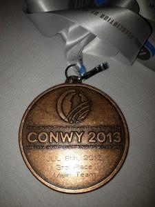 Männermannschafts Bronze Medaille