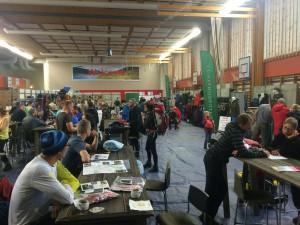 Expo des Fäll Räven Classic und Tierra Arctic Ultra