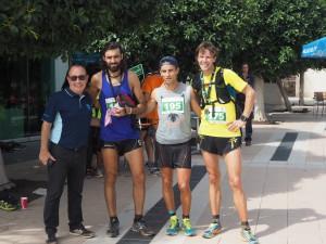 Andres Morente, Andres Santana Fernandez, Majid Belouati, Carsten Stegner